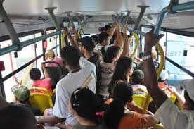 Bus full of people